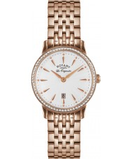 Rotary LB90054-06 Ladies Les Originales Kensington Rose Gold Steel Watch