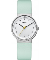 Braun BN0031WHTQL Ladies White Turquiose Watch