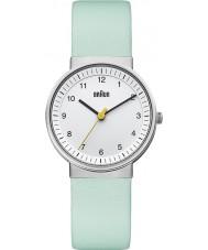 Braun BN0031WHTQL Ladies White Turquiose Watch