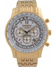 Krug Baümen 600101DS Mens Air Traveller Diamond Watch
