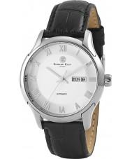 Edward East EDW5339G2 Mens Black Leather Strap Watch