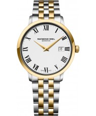 Raymond Weil 5488-STP-00300 Mens Toccata Two Tone Steel Bracelet Watch