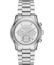 Michael Kors MK6273 Ladies Cooper Silver Tone Steel Chronograph Watch
