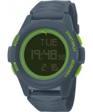 Puma PU911161002 Vertical Blue Silicone Strap Chronograph Watch