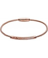 Fossil JA6766791 Ladies Vintage Glitz Rose Gold Metallic Flex Bracelet