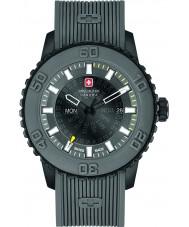 Swiss Military 6-4281-27-007-30 Mens Twilight Grey Silicone Strap Watch