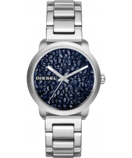 Diesel DZ5522 Ladies Flare Silver Steel Bracelet Watch