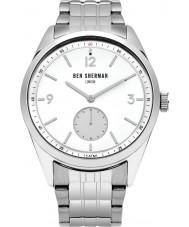 Ben Sherman WB052SM Mens Carnaby Driver Silver Steel Bracelet Watch