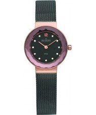 Skagen 456SRM Ladies Klassik Charcoal Black Mesh Watch