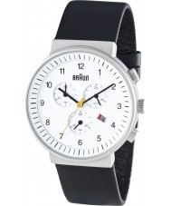 Braun BN0035WHBKG Mens Chronograph Black White Watch