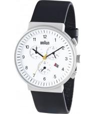 Braun BN0035WHBKG Mens Chronograph Black White Watch