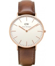 Daniel Wellington DW00100035 Ladies Classic St Mawes 36mm Rose Gold Watch