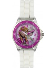 Frozen FZN3550 Girls Anna and Elsa Time Teacher Watch with White Silicone Strap