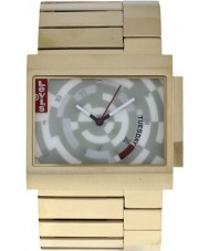 Levis L014GU-5 Unisex With Silver Dial And Stainless Steel Bracelet Watch