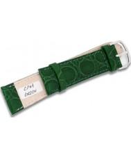 Krug Baümen CP49GreenG Military Green Leather Replacement Mens Principle Strap