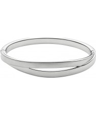 Skagen SKJ0714040 Ladies Elin Silver Steel Cut Out Bangle