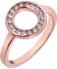 Emozioni Ladies Saturno Rose Gold Plated Ring