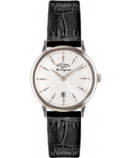 Rotary LS90050-02 Ladies Les Originales Kensington Black Leather Strap Watch