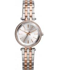 Michael Kors MK3298 Ladies Mini Darci Two Tone Steel Bracelet Watch
