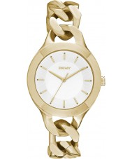 DKNY NY2217 Ladies Chambers Gold Plated Bracelet Watch