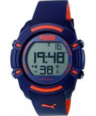 Puma PU911221002 Bytes Blue Silicone Strap Chronograph Watch