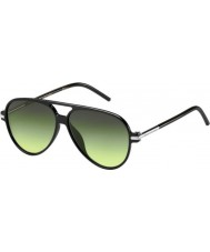 Marc Jacobs MARC 44-S D28 IB Shiny Black Sunglasses