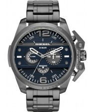 Diesel DZ4398 Mens Ironside Gunmetal Steel Chronograph Watch