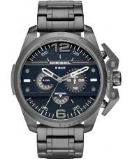 Diesel DZ4398 Mens Ironside Gunmetal Steel Chronograph Watch