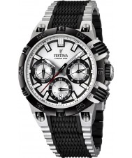 Festina F16775-1 Mens 2014 Chrono Bike Tour De France Black Silver Watch