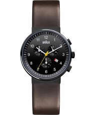Braun BN0035BKBRG Mens Black Brown Watch
