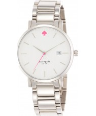 Kate Spade New York 1YRU0008 Ladies Gramercy Grand Silver Steel Bracelet Watch