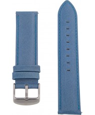 Charles Conrad CDA1006-15-L7 Blue Leather Strap