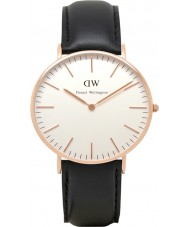 Daniel Wellington DW00100036 Ladies Classic Sheffield 36mm Rose Gold Watch