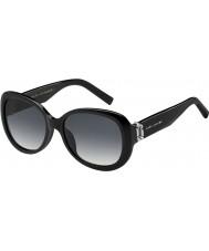 Marc Jacobs Ladies MARC 111-S 807 9O Black Sunglasses