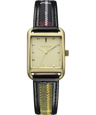 Barbour BB013GDTR Ladies Dryden Mixed Colour Fabric Strap Watch