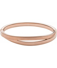 Skagen SKJ0715791 Ladies Elin Rose Gold Tone Cut Out Bangle