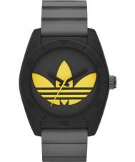 Adidas ADH3030 Mens Santiago Gray Silicone Strap Watch