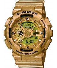 Casio GA-110GD-9AER Mens G-Shock World Time Gold Resin Strap Combi Watch