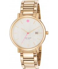 Kate Spade New York 1YRU0009 Ladies Gramercy Grand Gold Plated Bracelet Watch