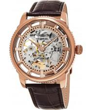 Stuhrling Original 393-3345K14 Mens Legacy Winchester Skeleton Watch