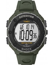 Timex T49951 Mens Green Expedition Shock XL Vibrating Alarm Watch