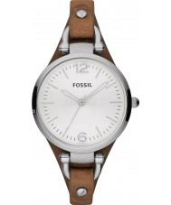 Fossil ES3060 Ladies Georgia Brown Watch