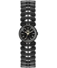 Orla Kiely OK4024 Ladies Laurel Matte Black Steel Bracelet Watch