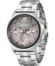 Police 14377JSTU-61M Mens Concept Grey Silver Watch