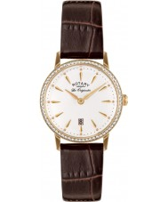Rotary LS90054-01 Ladies Les Originales Kensington Brown Leather Strap Watch