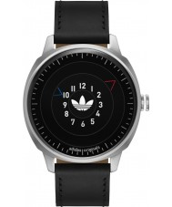 Adidas ADH3126 Mens San Fransico Black Leather Strap Watch