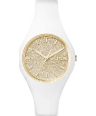 Ice-Watch ICE.GT.WGD.S.S.15 Ladies Ice-Glitter White Silicone Strap Small Watch