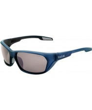 Bolle Aravis Matt Blue Polarized TNS Gun Sunglasses