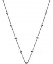 Emozioni Silver Tone Intermittent Bead Chain