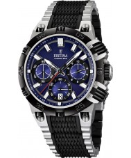 Festina F16775-2 Mens 2014 Chrono Bike Tour De France Blue Black Watch